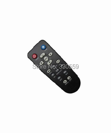 Remote Control Fit For WD TV Western Digital WDBACC0020HBK WDBREC0000NBK Live WDTV Media Player(China (Mainland))