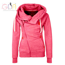 GDA 2016 warm jacket XXL Hoodie Jackets versae for women capuz sport clothes Casual track suit long harajuku zipper boyfriend Y