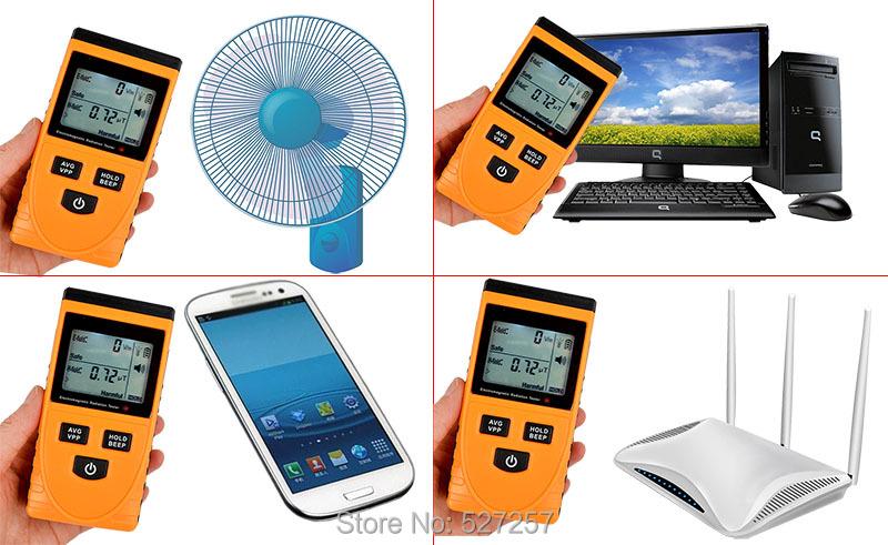 Купить GM3120 Цифровой Электромагнитная Детектор Метр Дозиметр Тестер Счетчик