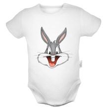 Мультяшный кролик, милый кролик, кролик и Черный кот, Твити, птицы, анимация, чудо-женщина, комплекты одежды для новорожденного, комбинезон д...(China)
