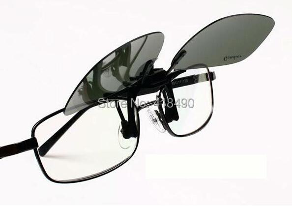 free shipping 600pcs Clip daily night men and women myopia polarized balck sunglasses clip eyewear fashion goggles