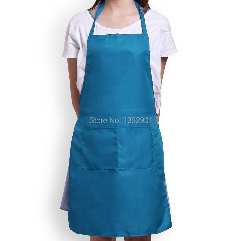 Big Pocket Apron Ruffle Style For Cooking Uniform 3 Colors(China (Mainland))