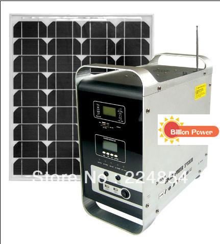 Supply high quality solar portable power system BP-S-HMP 150 ,portable solar generator system(China (Mainland))