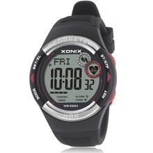 Hot! XONIX Pedometer Heart Rate Monitor Calories BMI Men Sports Watches Waterproof 100m Digital Watch Running Diving Wristwatch(China (Mainland))
