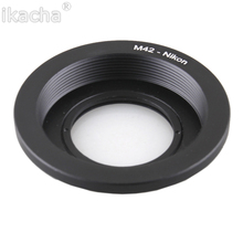 Buy 10Pcs Wholesale Lens Adapter M42 Lens Nikon AI Mount Adapter Converter Optic Focus Infinity Glass D700 D300 D90 D40 for $78.88 in AliExpress store