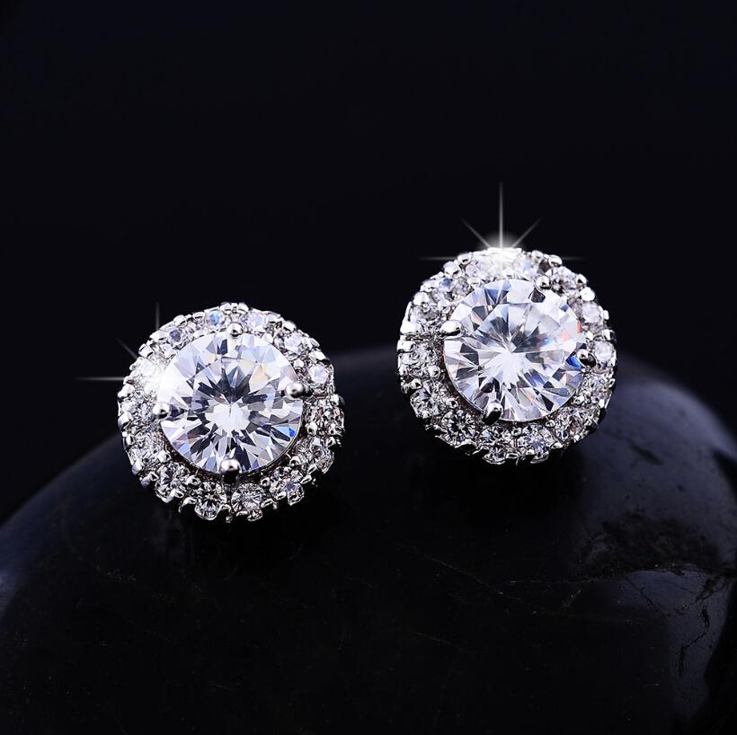 big diamond stud earrings wwwimgkidcom the image kid