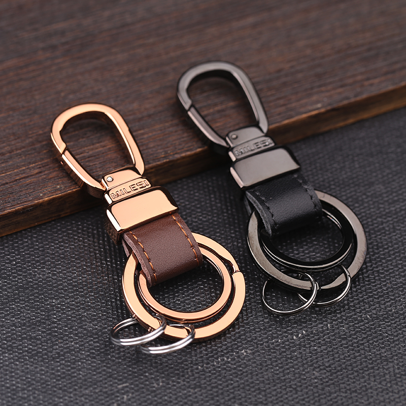 MILESI Fashion Brand Metal Car Keychain men Luxury Key Holder Keyring llaveros chaveiro porte clef Best gift K0191(China (Mainland))