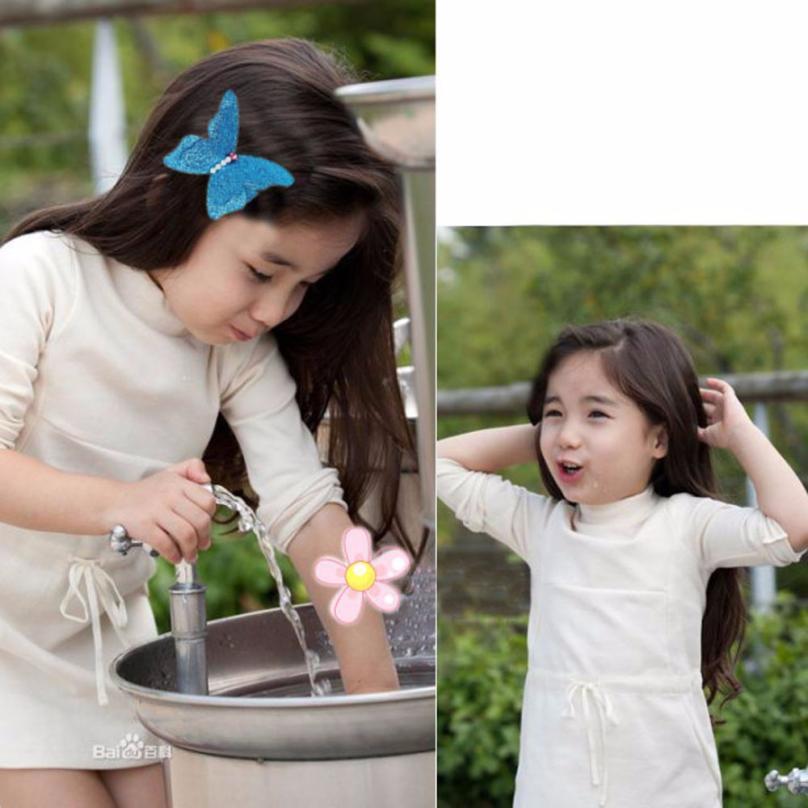 girls hair decorations baby hair clips Butterfly Hairpin girls hair accessories hair ties hebillas para el pelo great(China (Mainland))
