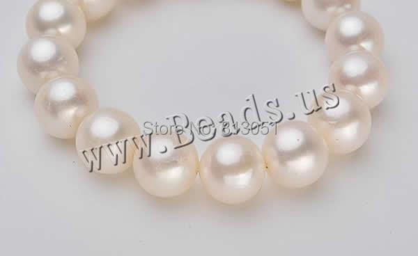 Free shipping!!!Freshwater Cultured Pearl Bracelet,Wedding, Freshwater Pearl, Round, natural, 11-11.5, Length:Approx 6.5 Inch