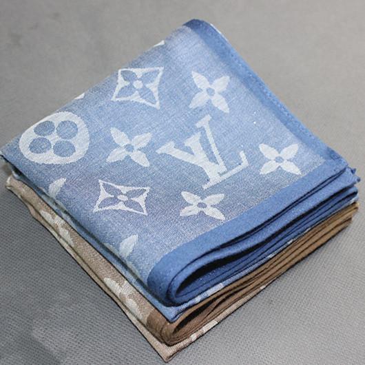 Men's New Jacquard Handkerchiefs Export Europe High Quality Vintage Hankies 100% Cotton Hankerchief 48*48cm Pocket Square Scarf(China (Mainland))