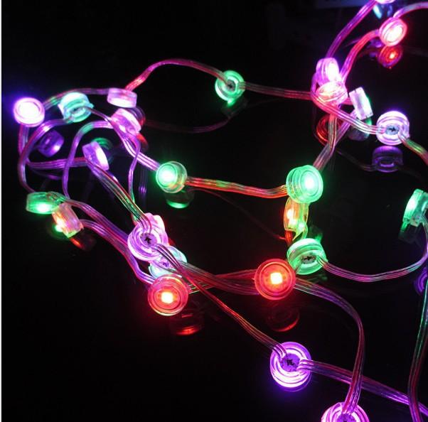 LED 20 Pcs 25mm 1903 WS2811 IC 5050 RGB SMD Pixel LED Moudle Light Christmas DC5V WP(China (Mainland))