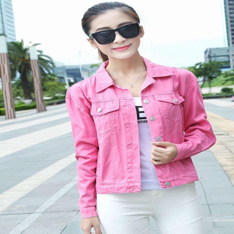 Popular Spring Jacket Pink Woman 2016-Buy Cheap Spring Jacket Pink ...