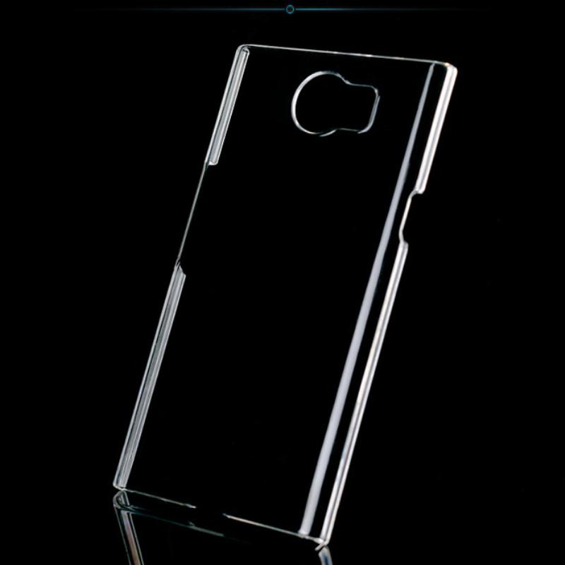 Clear hard Case for Blackberry Priv DIY Transparent Back Shell for Blackberry Priv Protective Case(China (Mainland))