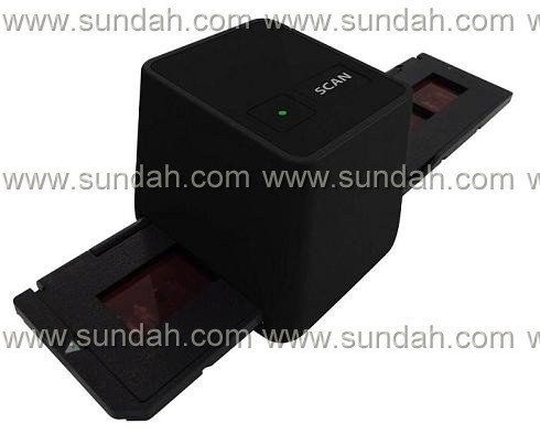 2012 holiday wholesale&retail/17.9mega pixels/Driver free USB negative film scanner black color/3600dpi,in stock,free shipping