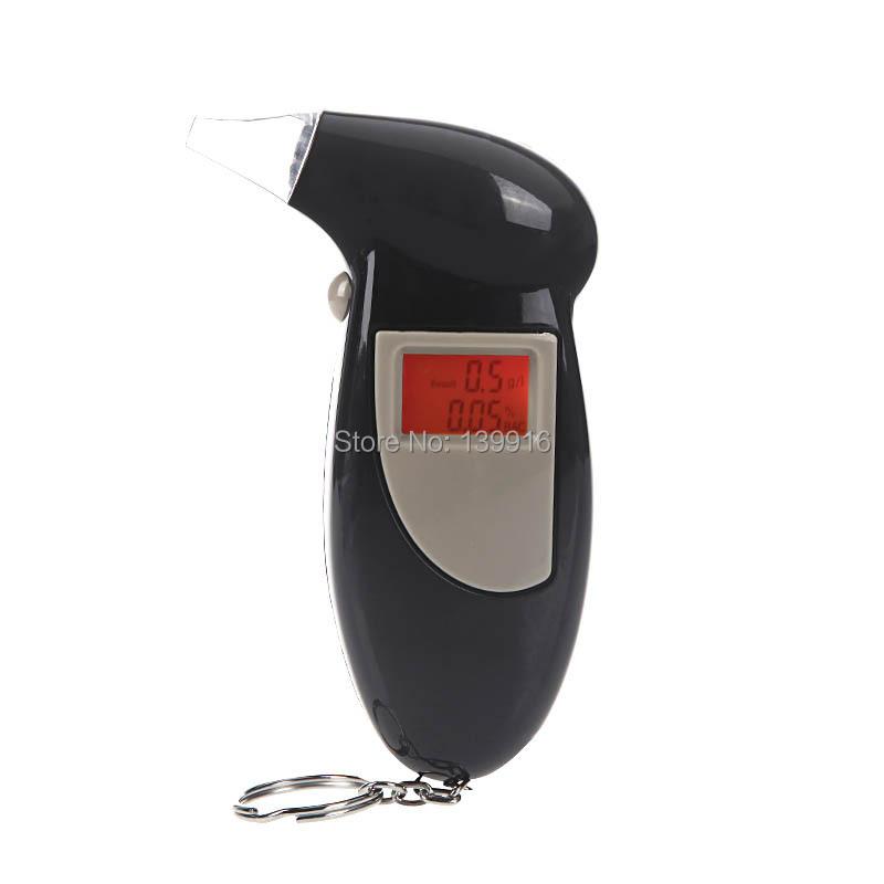 Backlit Display Digital LCD Alert Breath Alcohol Tester Prefessional Police Alcohol The Breathalyzer Parking Breathalyser(China (Mainland))