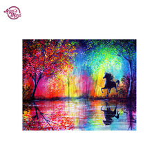 5D DIY diamond painting crystal plastic crafts round embroidery cross stitch decorative flower - Yiwu Chunfeng Diamond Painting Factory store