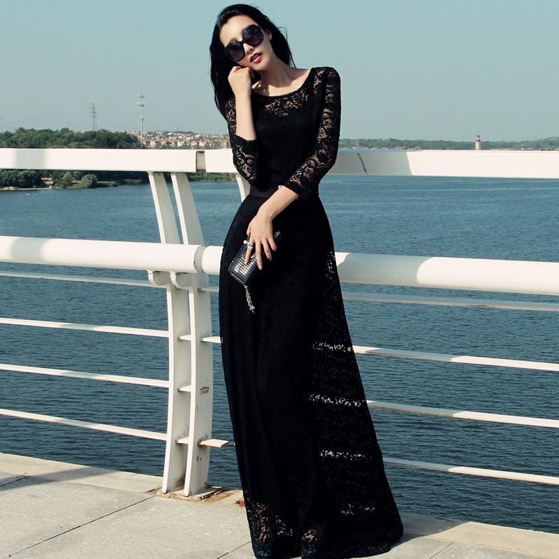 Женское платье Manu lace maxi dress 6XL XXS XS S M L XL XXL XXXL 4XL 5XL 6XL