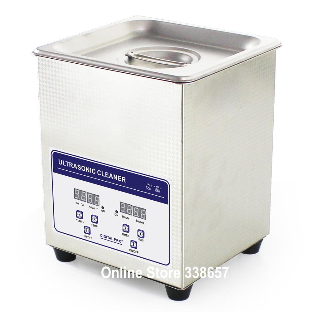JP-010S Ultrasonic jewelry bath cleaner machine dental teeth cleaning washer 2L for sale(China (Mainland))