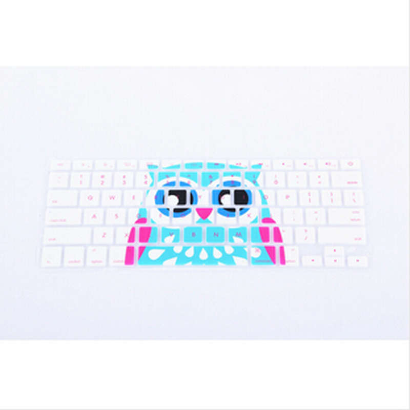 20x animal pattern silicone keyboard cover skin protector fo