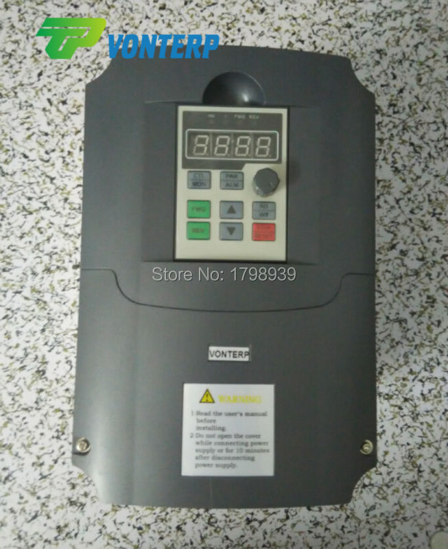 380v 7.5kw frequency converter/VFD/ac drive 60hz 50hz for 3 Phase ac motor(China (Mainland))