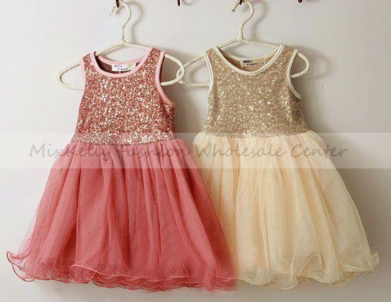 2013 children's sequins party dress, girls spring tutu dress,baby girl summer dress,kids wedding tulle dress - MixKelly Children Clothes Center store