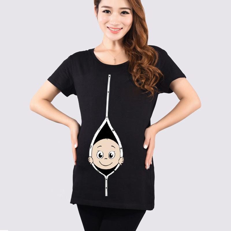 online kaufen gro handel lustige schwangere t shirts aus. Black Bedroom Furniture Sets. Home Design Ideas