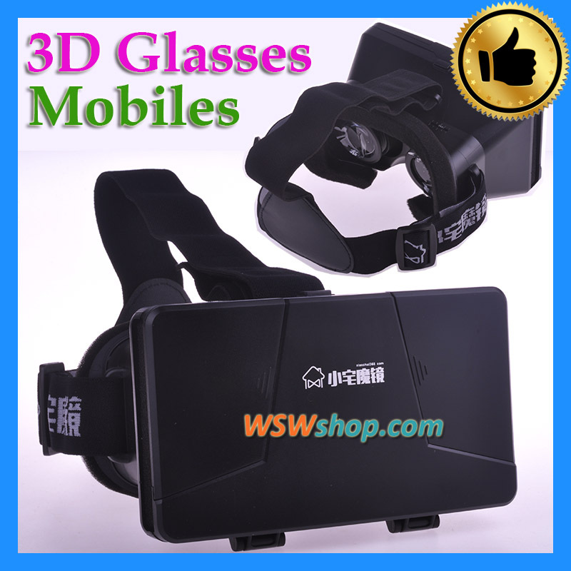 3D Cinema Glasses Mobile Phone 3D Virtual Reality Glasses Helmet VR Glasses For Video Oculos 3D