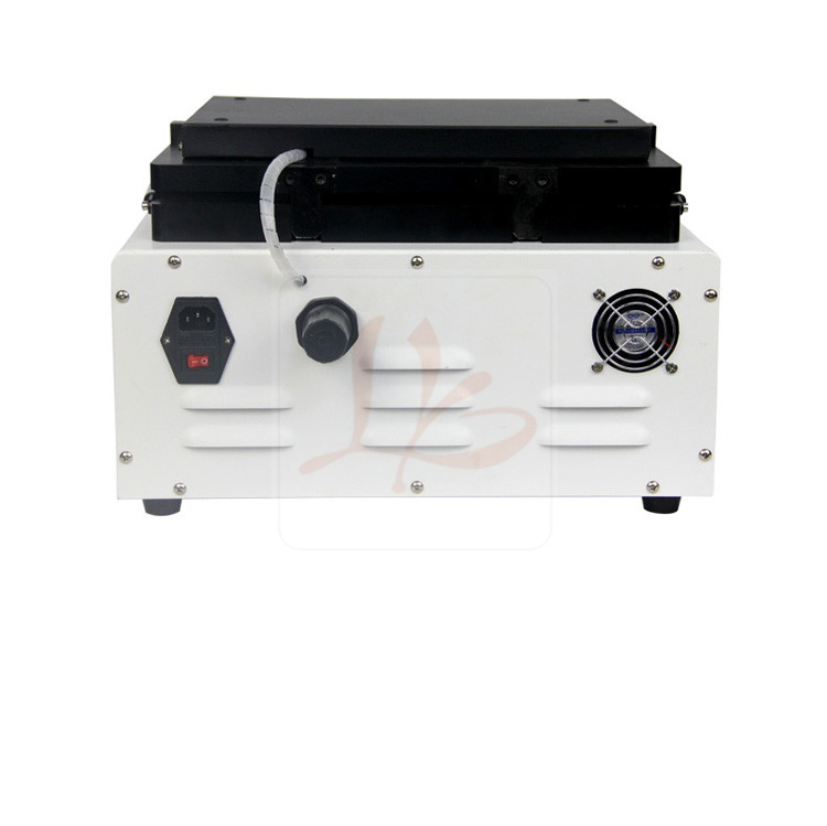 Auto air lock 13 inches LY 888D OCA lamination machine non-bolts all in one free tax to EU