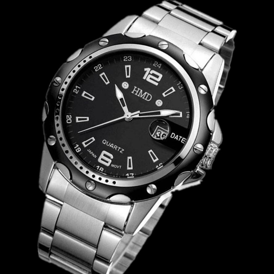 Новый люксовый бренд часы мужские кварцевые часы мужские спортивные часы банкомат часы стали водонепроницаемый свободного покроя мужские часы Relogio masculino