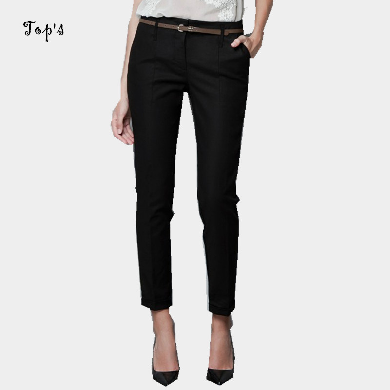 2015 European and American Style Womens Casual Pants Belt Office Pants Women Workout pants Cargo Pants Work PantsОдежда и ак�е��уары<br><br><br>Aliexpress