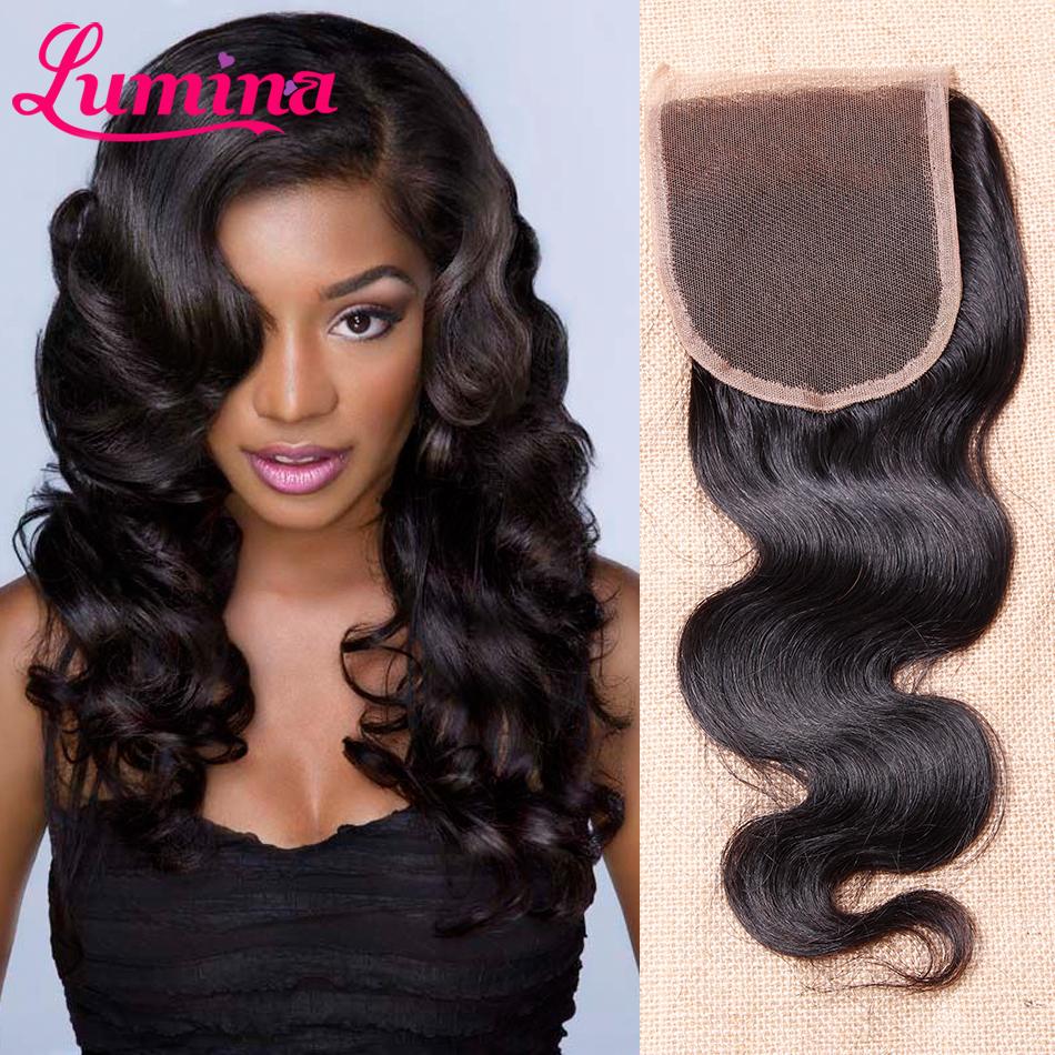 Brazilian Body Wave Closure 3 Part Lace Closure Free Part Human Hair Closure Brazilian Virgin Hair Closures Piece Clousure Hair(China (Mainland))