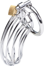 Baile Stainless Steel Cock Cage Chastity Sale Sex Toys For Men Male Chastity Penis Rings(China (Mainland))
