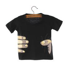 Special Offer  New Children Boys Summer T Shirt Tops Lovely Cartoon Hand Star Short Sleeve