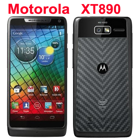 "Refurbished Original Motorola RAZR i XT890 Mobile Phone Unlocked Android 4.0 8GB 8MP 3G Wifi GPS 4.3"" Touchscreen Smartphone(China (Mainland))"
