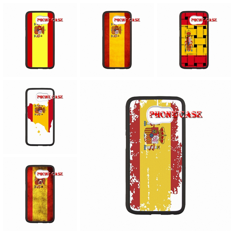 Spain Flag For iPhone SE 6 4S 5S 5C 6 6s plus TOUCH 4 5/For Samsung S3 S4 S5 mini/Note2/3/4 Live Love phone(China (Mainland))