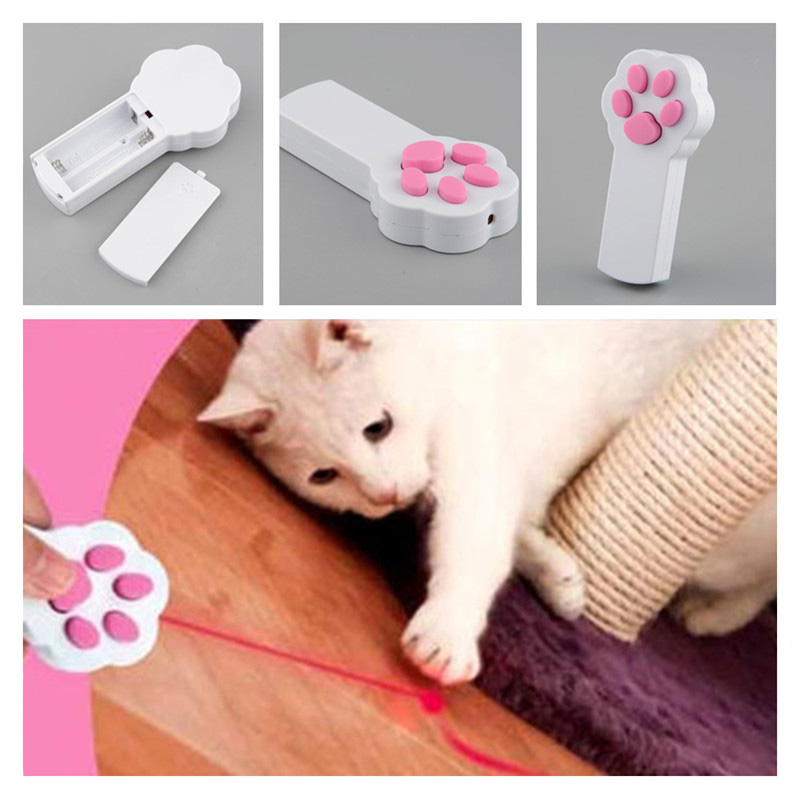 2015 New Arrival Funny Frolicat Pet Dog Interactive Beam Automatic Red Laser Pointer Exercise Toy(China (Mainland))