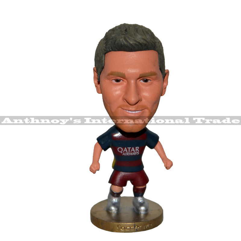 FC  Barcelona Messi figure footballer Model Figurine mannequins Toy Barcelona NO.10 Messi free shipping<br><br>Aliexpress