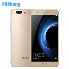 In Stock Original Huawei Honor V8 5.7 inch 2560*1440 2K Screen Mobile Phone Android 6.0 Kirin 950 Octa Core 4GB RAM VR Glass(China (Mainland))