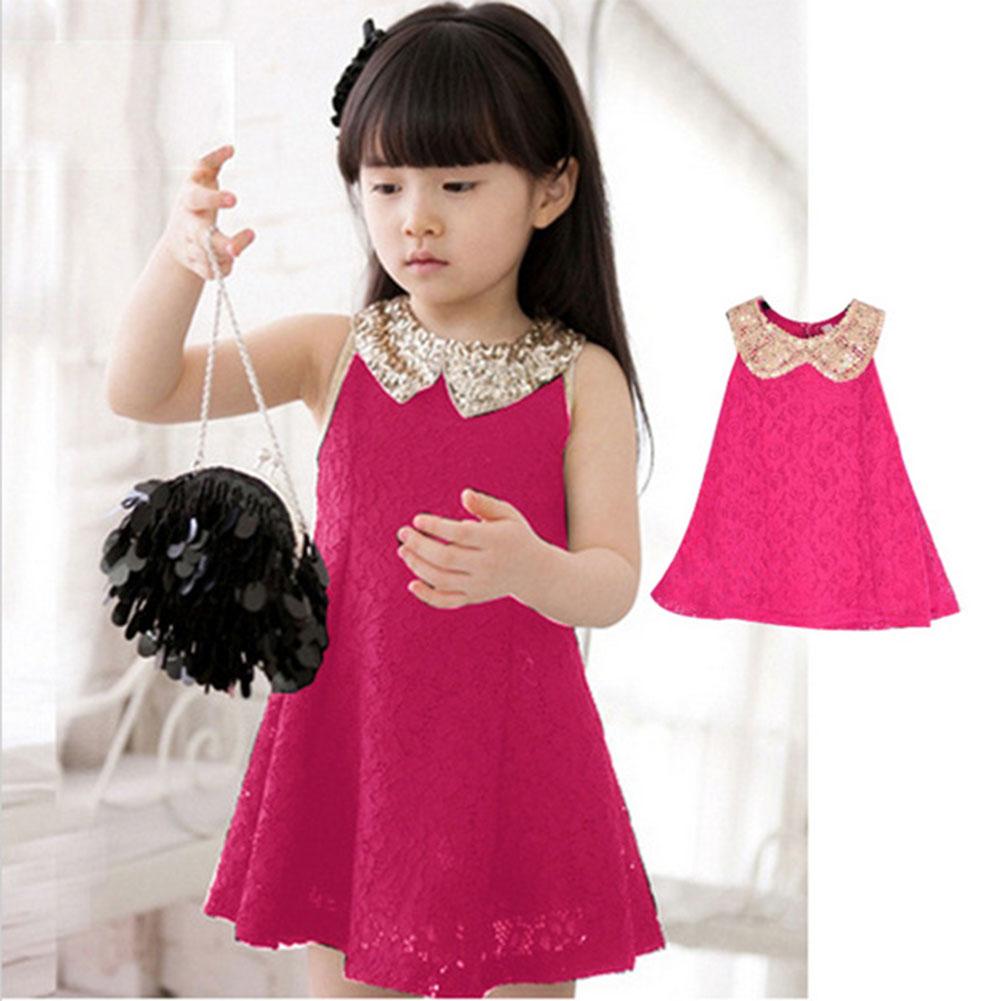 Summer Vest Girls Dress Baby Girl Princess tutu Dress 3-11 Years Chlidren Clothes Kids Party Clothing For Girls Children Dress(China (Mainland))