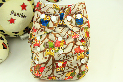 Baby Washable One Size Cloth Nappy Reusable Pocket Diaper Inserts Available Suit 0-3 years 3-15kg One Size H15(China (Mainland))