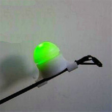 Strike Alert Night Fishing LED Rod Tip Clip on Fish Bite Alarm lLight Electronic Fishing Accessories with Rod Adapter(China (Mainland))