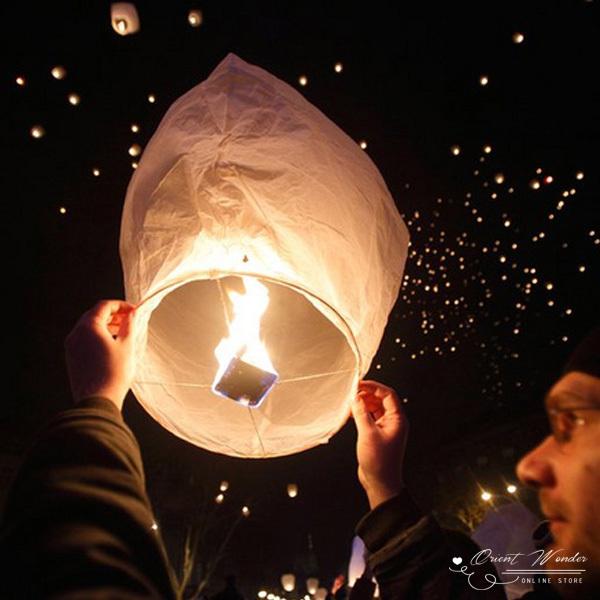 Freeshipping 20pcs/lot SKY Kongming Balloons wishing Lanterns,Flying Light Halloween Lights,Chinese sky Lantern(China (Mainland))