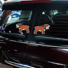 2 x Reflective Car Sticker Bulldog Open Door Warning Decal Mini Cooper Countryman Clubman Hatch R50 51 55 53 56 F50 - Elife Zone Co., Ltd store