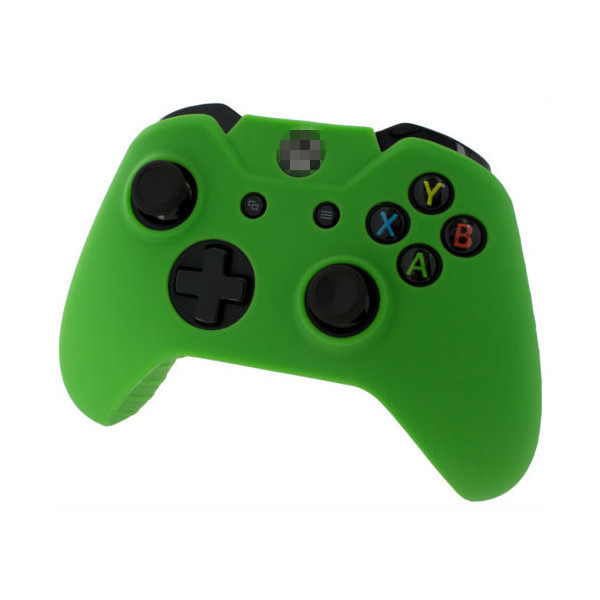 Green Soft Protector Silicone Skin Case Cover Pouch for Microsoft Xbox One Controller<br><br>Aliexpress