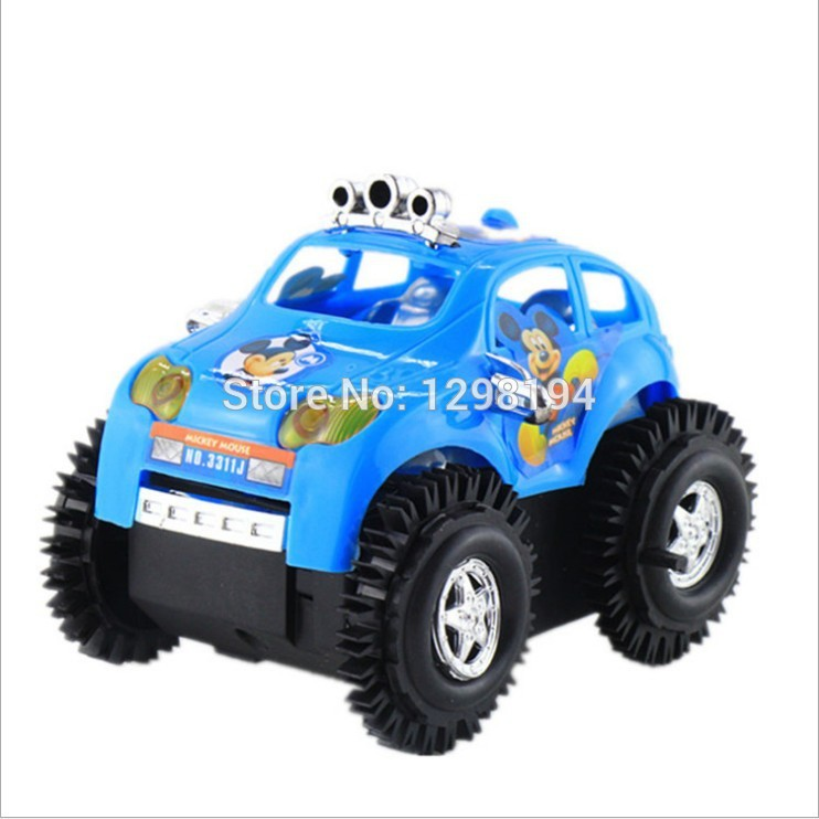 Kids Cute Cartoon Electric Toy Car for children scale model model toys Dump truck Car Electronic Toys Electronic Pets(China (Mainland))