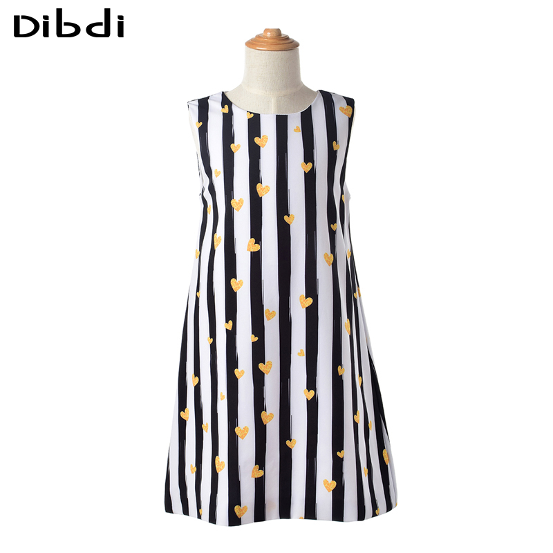 2016 Latest Summer Girls Striped Dress Sleeveless Cotton Dresses for Girl Clothing Kids Girls Clothes Children's Clothing CA361(China (Mainland))
