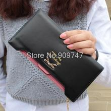 Women wallet female ultra thin design women s bow long wallet multi card holder wallet women