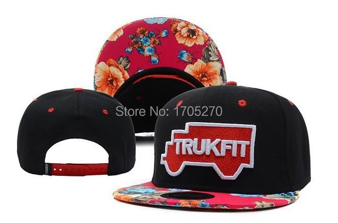 Snapback Caps Floral Floral Brim Snapback Caps