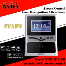 Buy Face Facial TCP IP Attendance Access Control Biometric Time Clock Recorder Employee Digital Electronic Standalone Reader 5YAF5 for $124.87 in AliExpress store