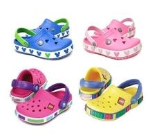 2015 sommer loch Kinder Marke Cartoon Garden Schuhe Mickey Clog Sandale Hausschuhe baby mädchen und jungen strand dias(China (Mainland))